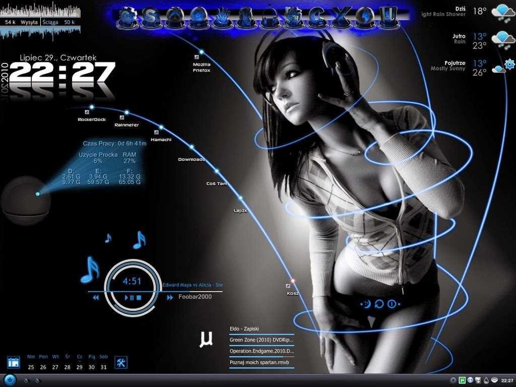 Make Yor Pc Desktop Look Like a Hytech machine!!!!