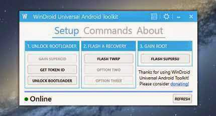 TOOL}WinDroid Universal Android Toolkit v2 3 | Unlock | Root