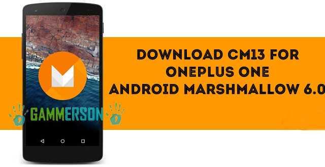 download-cyanogenmod-13-for-oneplusone-A0001-bacon