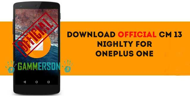 download-official-cm13-for-oneplusone
