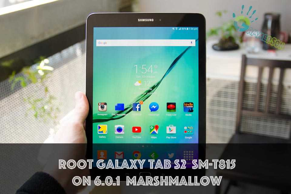 Root Galaxy Tab S2 SM-T815
