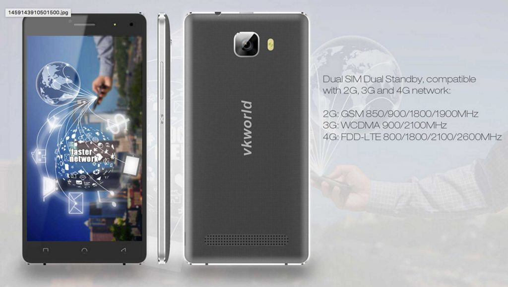 VKworld T3 : Specifications,Price and Features