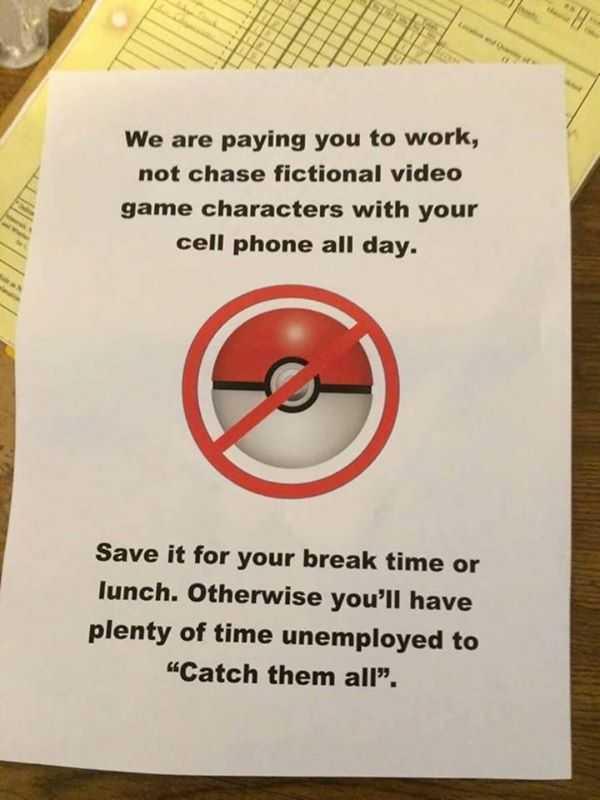Most Funny Pokemon Go Memes