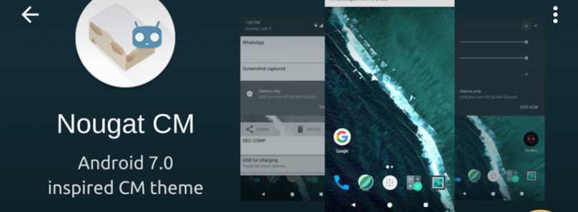 cm14 theme android nougat theme