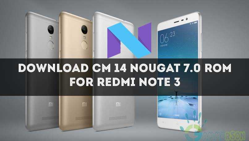 cm14-nougat-for-xiaomi-redmi-note-3