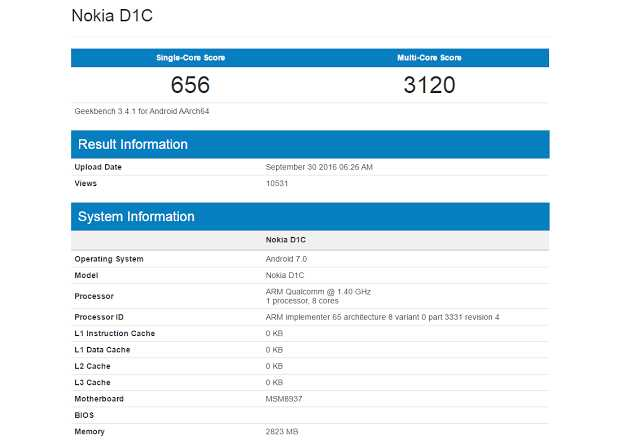 nokia-d1c-specification