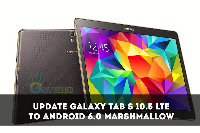 how to update samsung galaxy tab s 10 5 lte to android 6. Black Bedroom Furniture Sets. Home Design Ideas