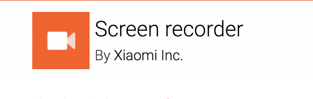 Install Official MIUI Screen Recorder In Any Xiaomi Device
