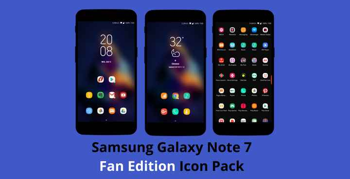 Download Samsung Galaxy Note 7 Fan Edition Icon Pack