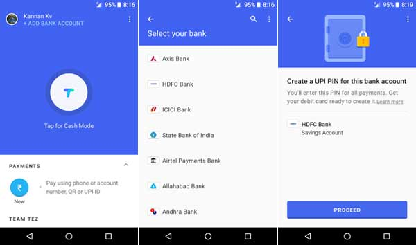 How To Use Google Tez in India