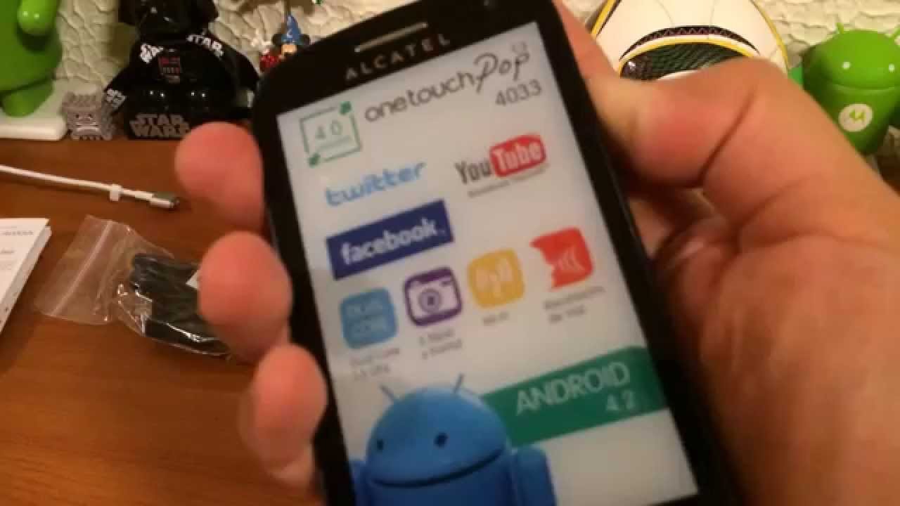 How-To] Install CWM and Root Alcatel One Touch POP C3 4033